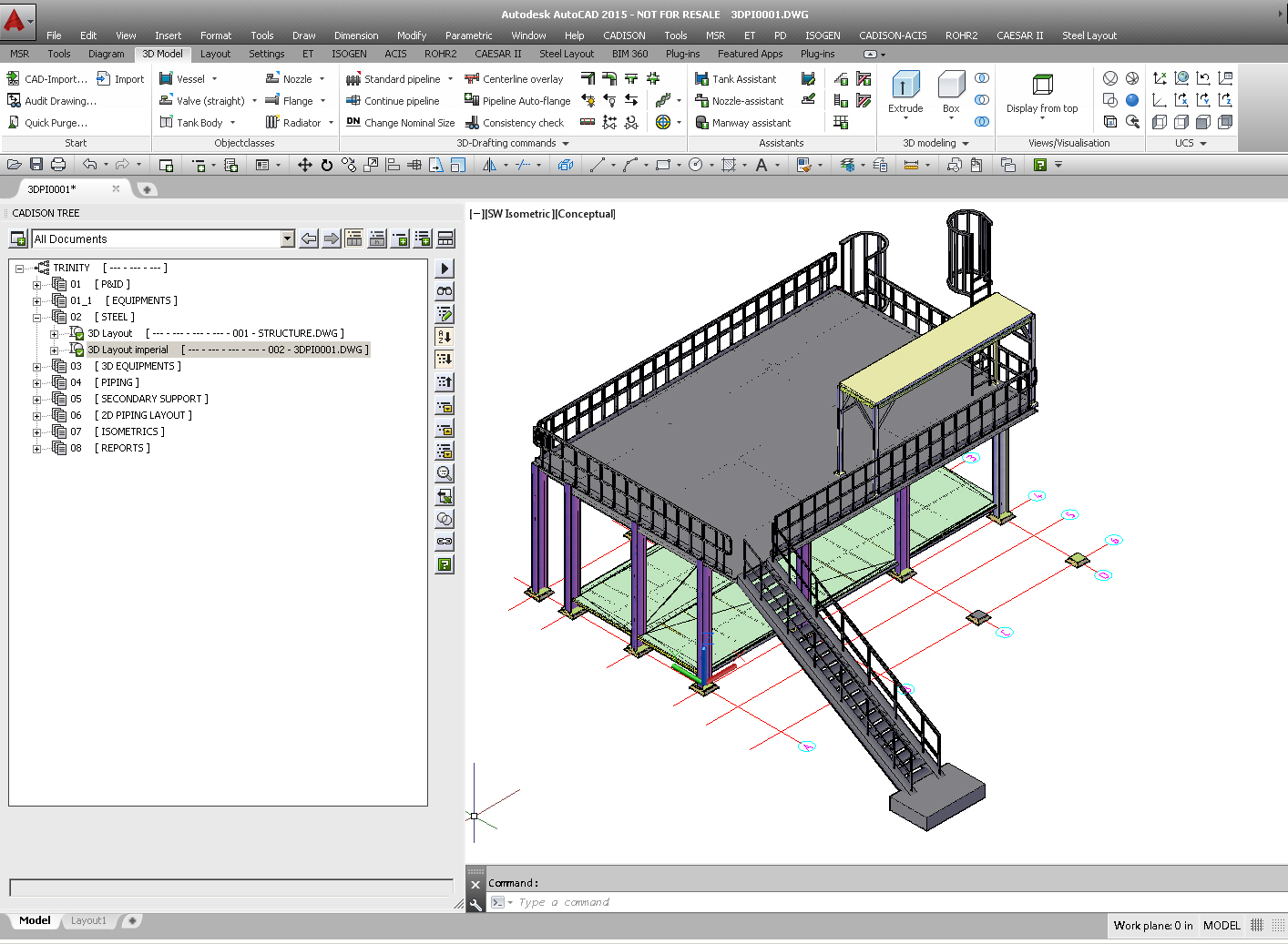 Software for steel structure layout for 2d design online